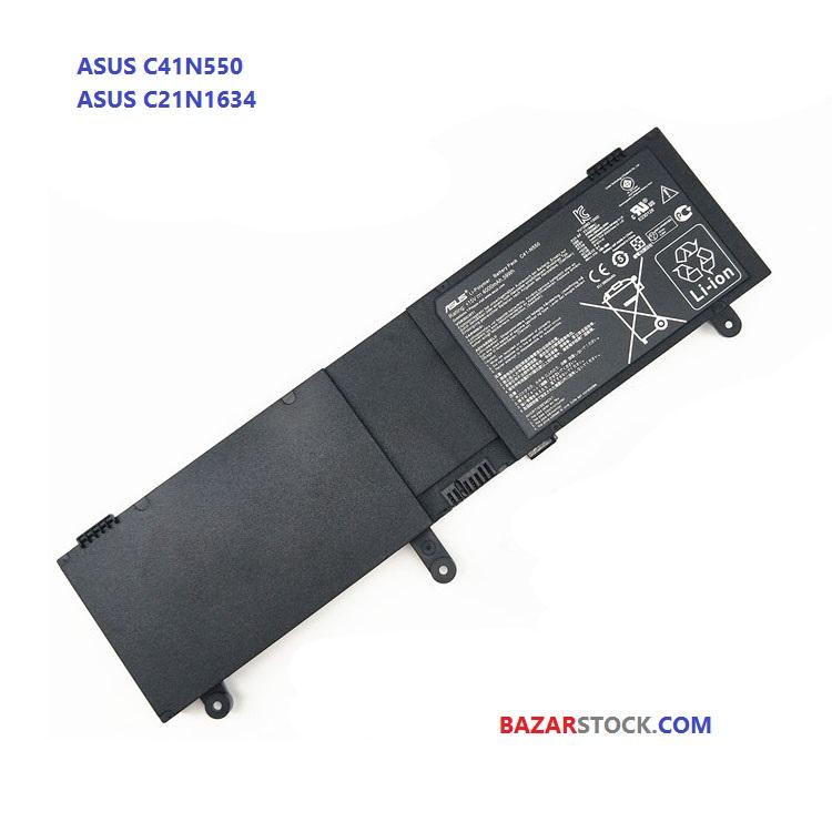 باتری ایسوس ASUS BATTERY C41N550 C21N1634
