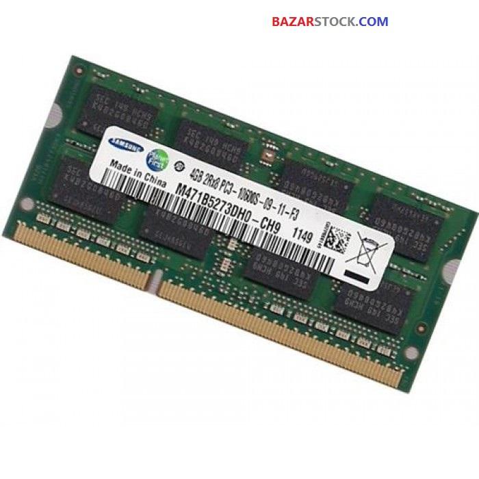 رم لپ تاپ سامسونگ ۴گیگابایت   SAMSUNG LAPTOP RAM 4GB DDR3