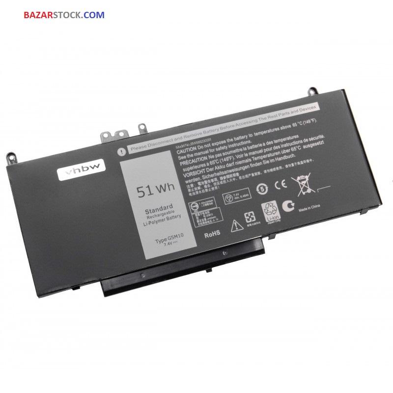 باتری دل  DELL BATTERY E5450 - G5M10 - E5450