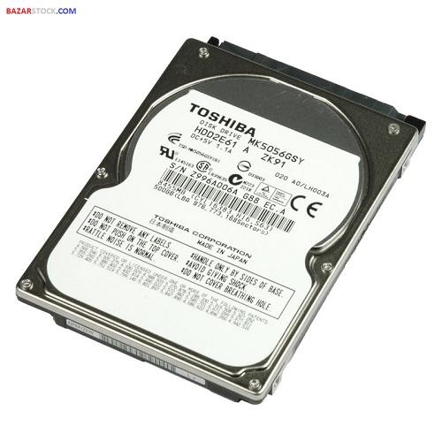 هارد 500 گیگ لپ تاپی Laptop Internal Hard Disk 500GB