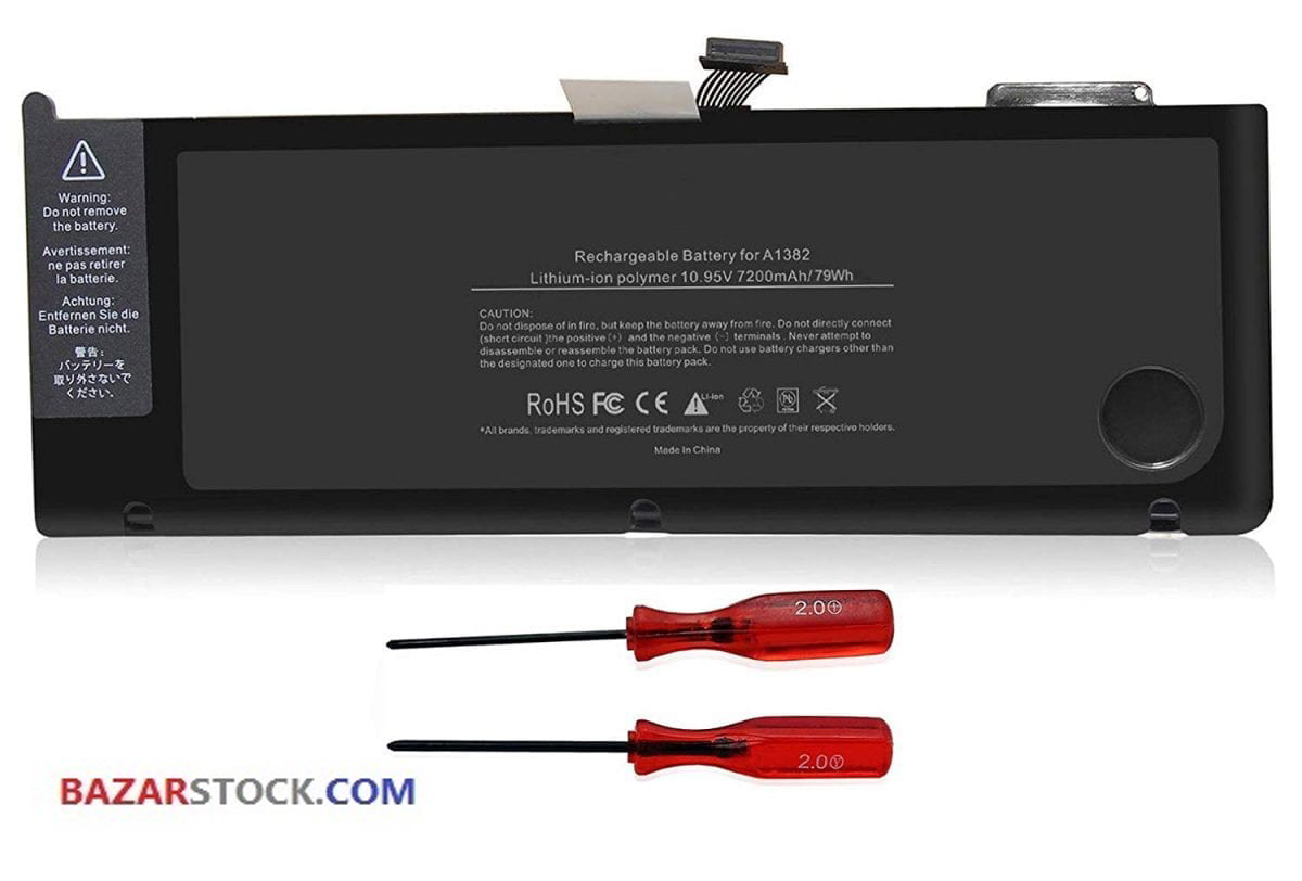 باتری لپ تاپ اپل A1382 Pro A1286-2011-2012 اورجینال
