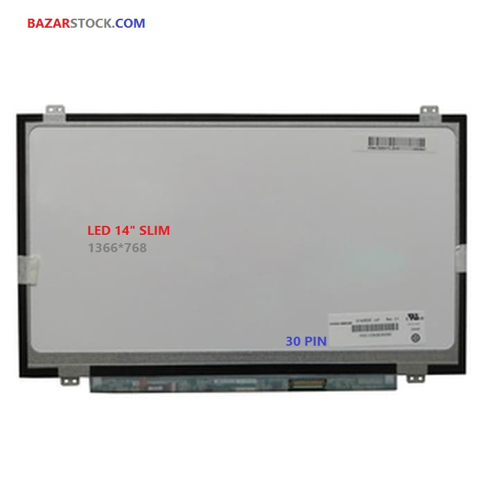 ال ای دی لپ تاپ 14.0 B140XTN03.9نازک  30 پین