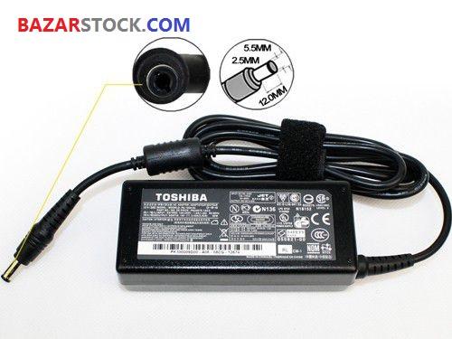 شارژر لپ تاپ توشیبا  TOSHIBA ADAPTER 65W 19V 3.42A