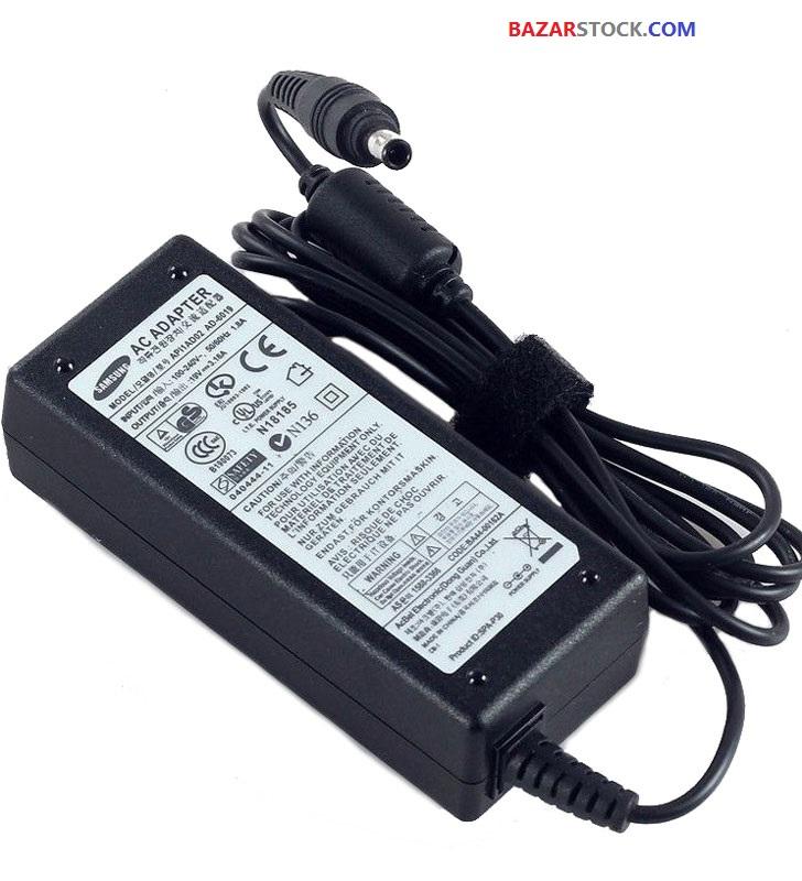 شارژر لپ تاپ سامسونگ 19V 3.16A  SAMSUNG LAPTOP ADAPTER
