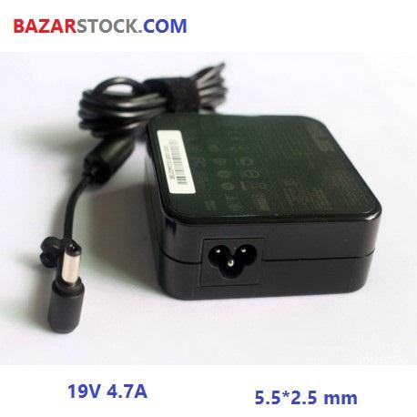 شارژر لپ تاپ ایسوس مربع  ASUS ADAPTER 19V 4.7A