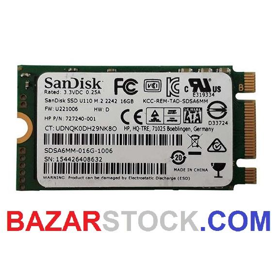 SSD SanDisk M2 16GB