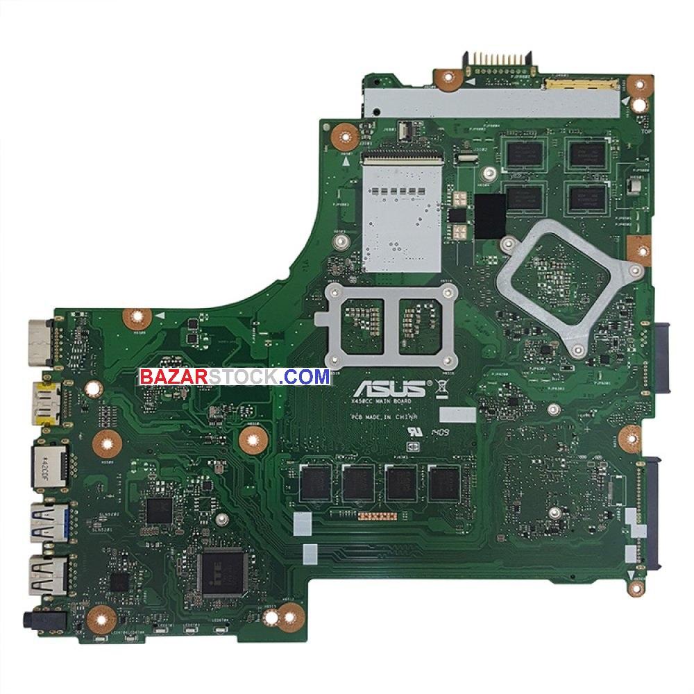 مادربرد لپ تاپ ایسوس X450CC CPU-I5-3230M_40Pin 4GB-2GB