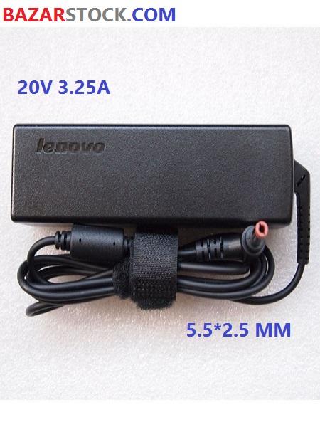 شارژر لپ تاپ لنوو LENOVO ADAPTER 20V 3.25A