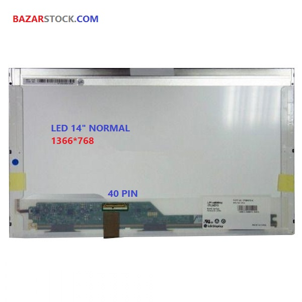 ال ای دی لپ تاپ 14.0 B140XW01 نرمال ۴۰پین